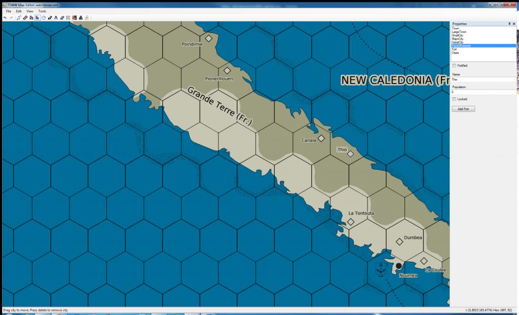 Watchtower mapping - Garnde Terre