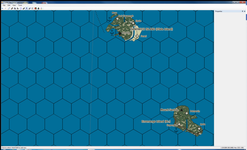 Watchtower mapping - Sandwich Island