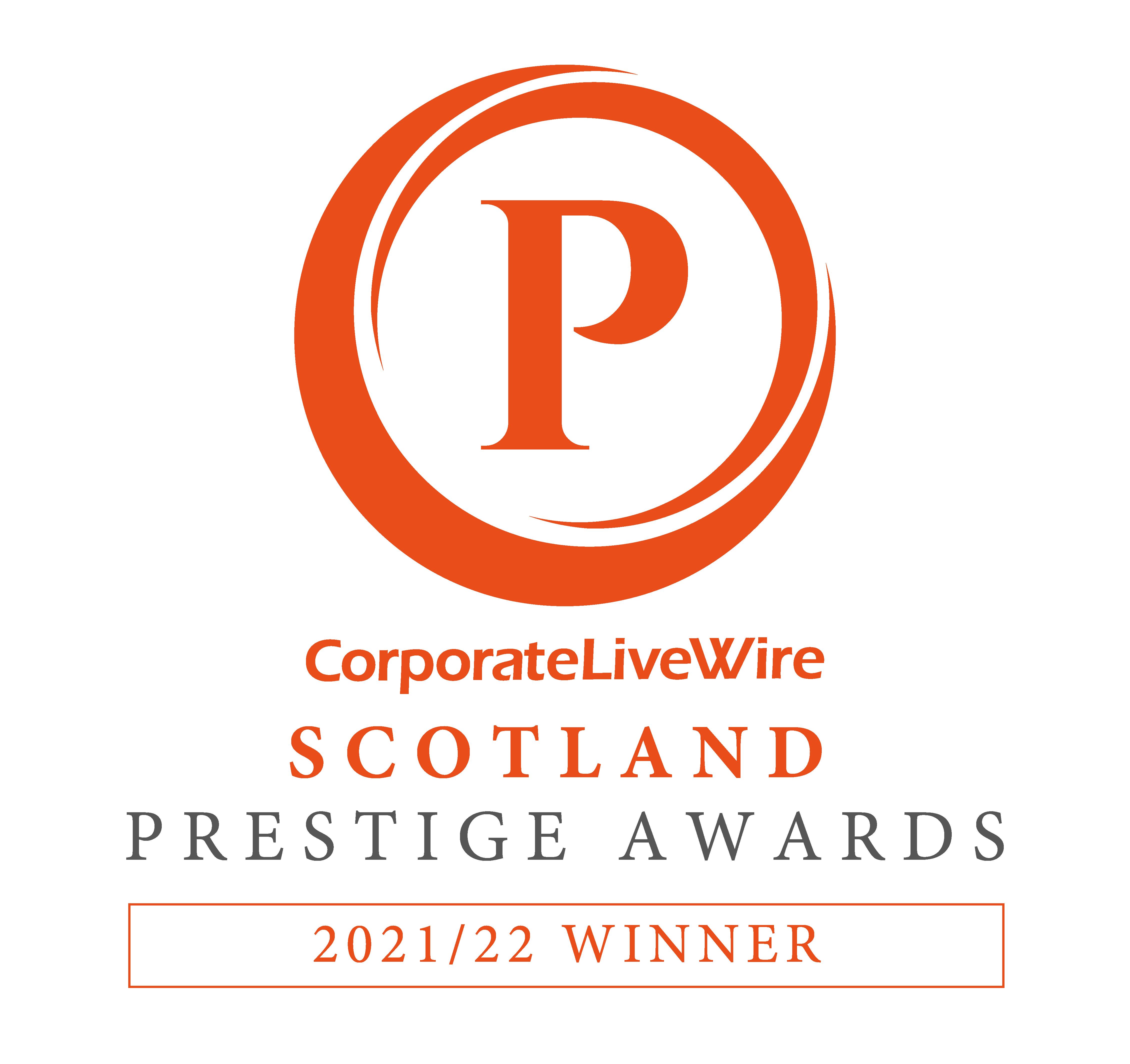 CorporateLiveWire SCOTLAND Prestige Awards WINNER